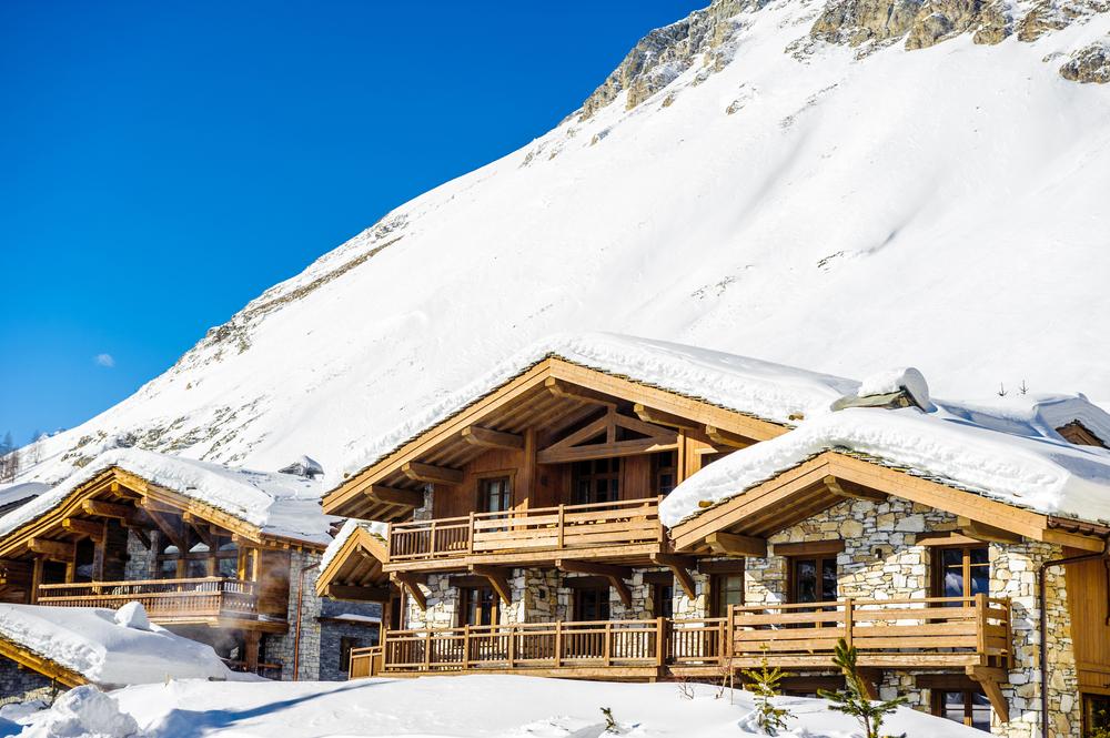 hôtel au ski